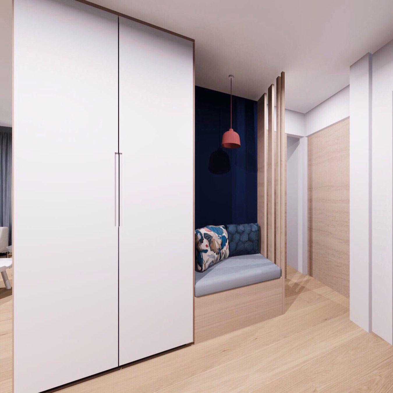 Anouck Charbonnier - Aménagement intérieur design appartement entrée