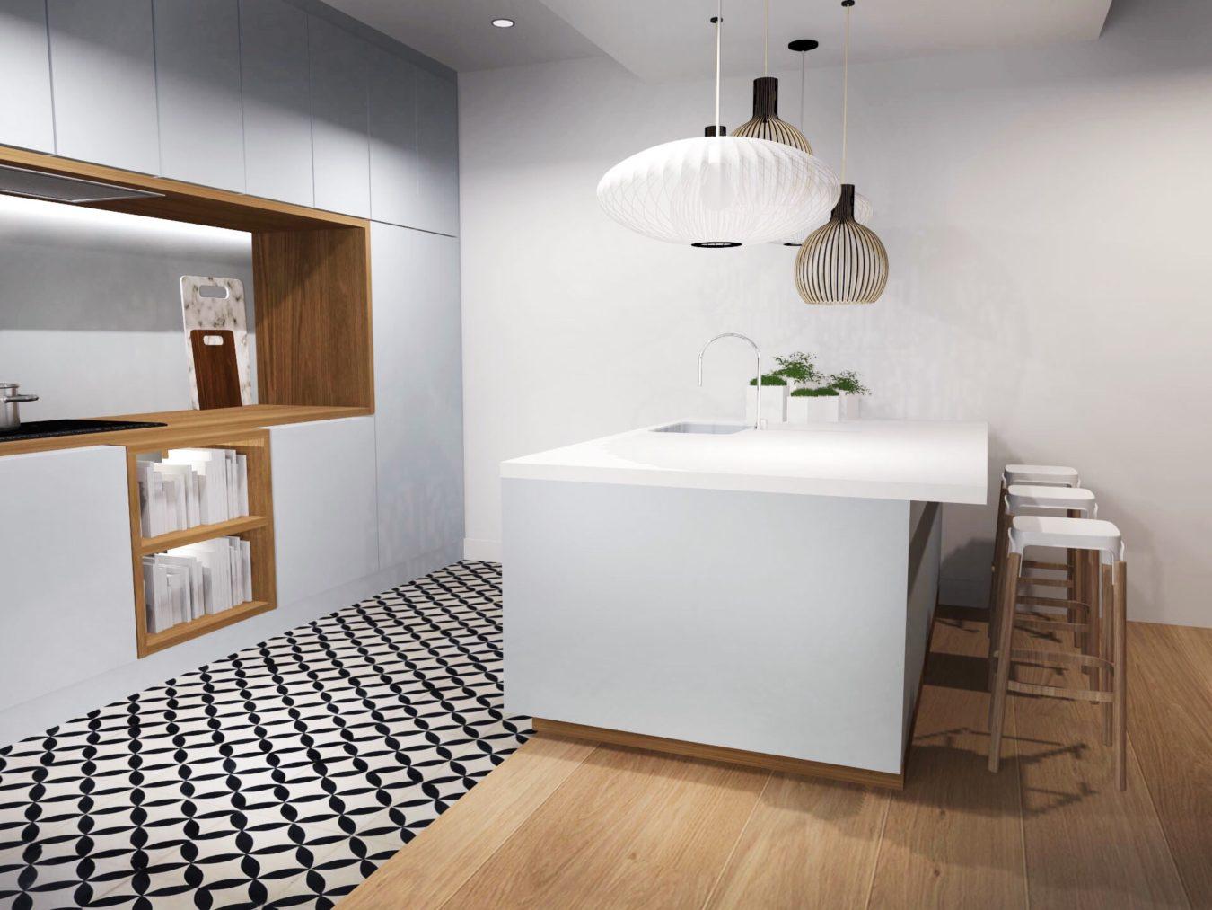 Anouck Charbonnier - Imaginer une cuisine comme un tableau