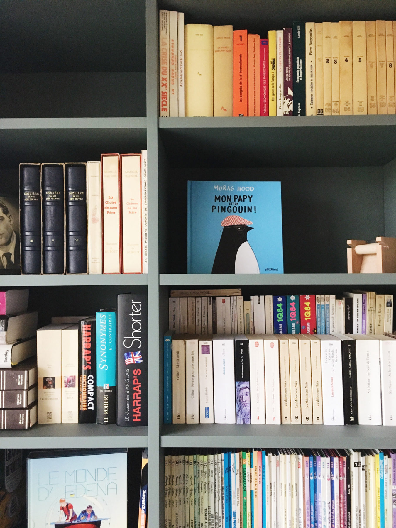 Anouck Charbonnier - Création d'une bibliothèque pour le projet Henry Bordeaux à Annecy