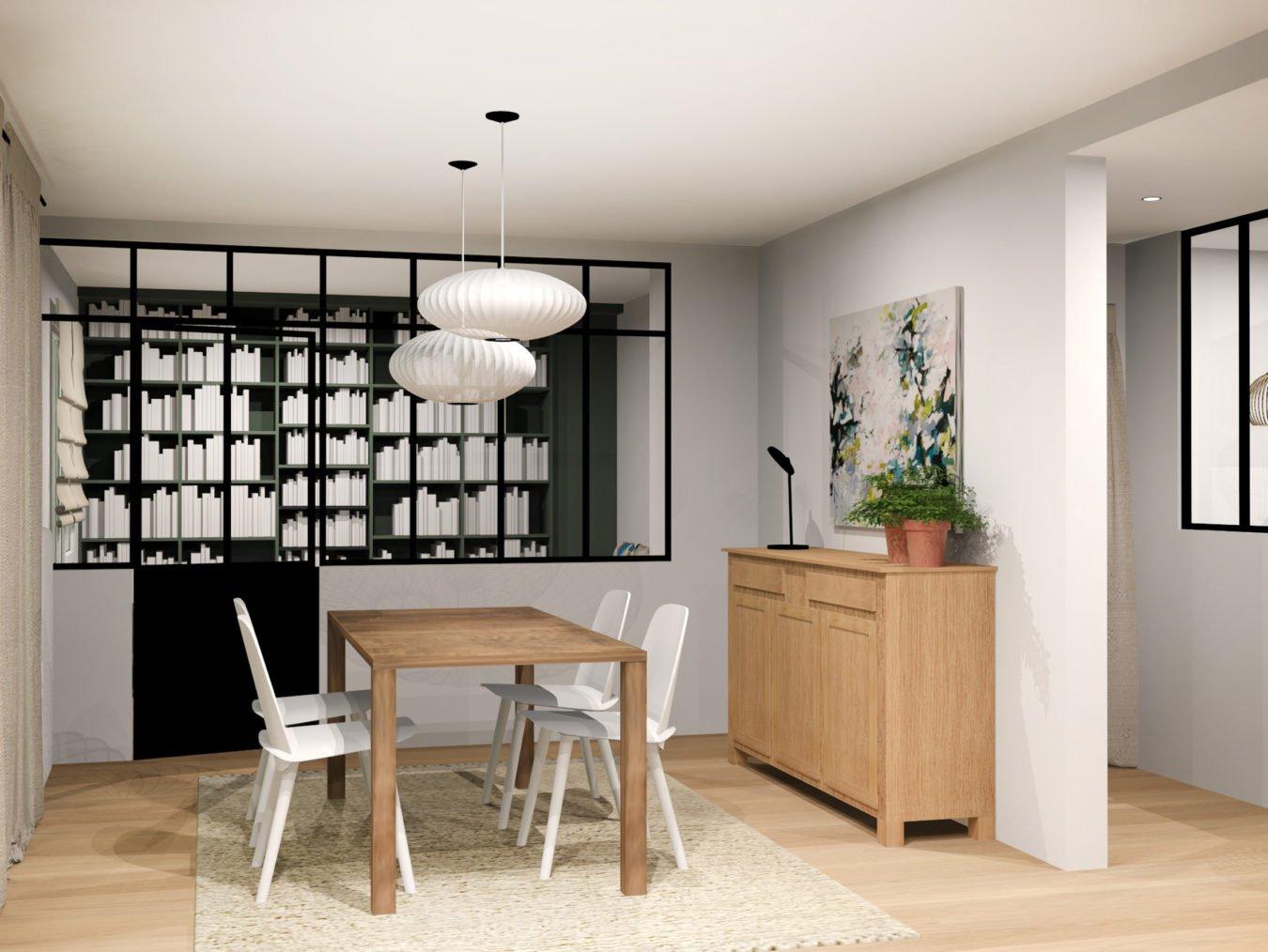 Anouck Charbonnier - Conception d'une bibliothèque pour le projet Henry Bordeaux à Annecy