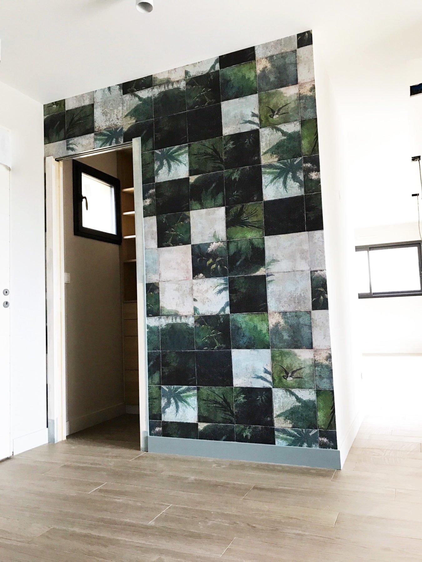 Anouck Charbonnier - Vue 3D - réalisation maison complète - entrée - Salvagny