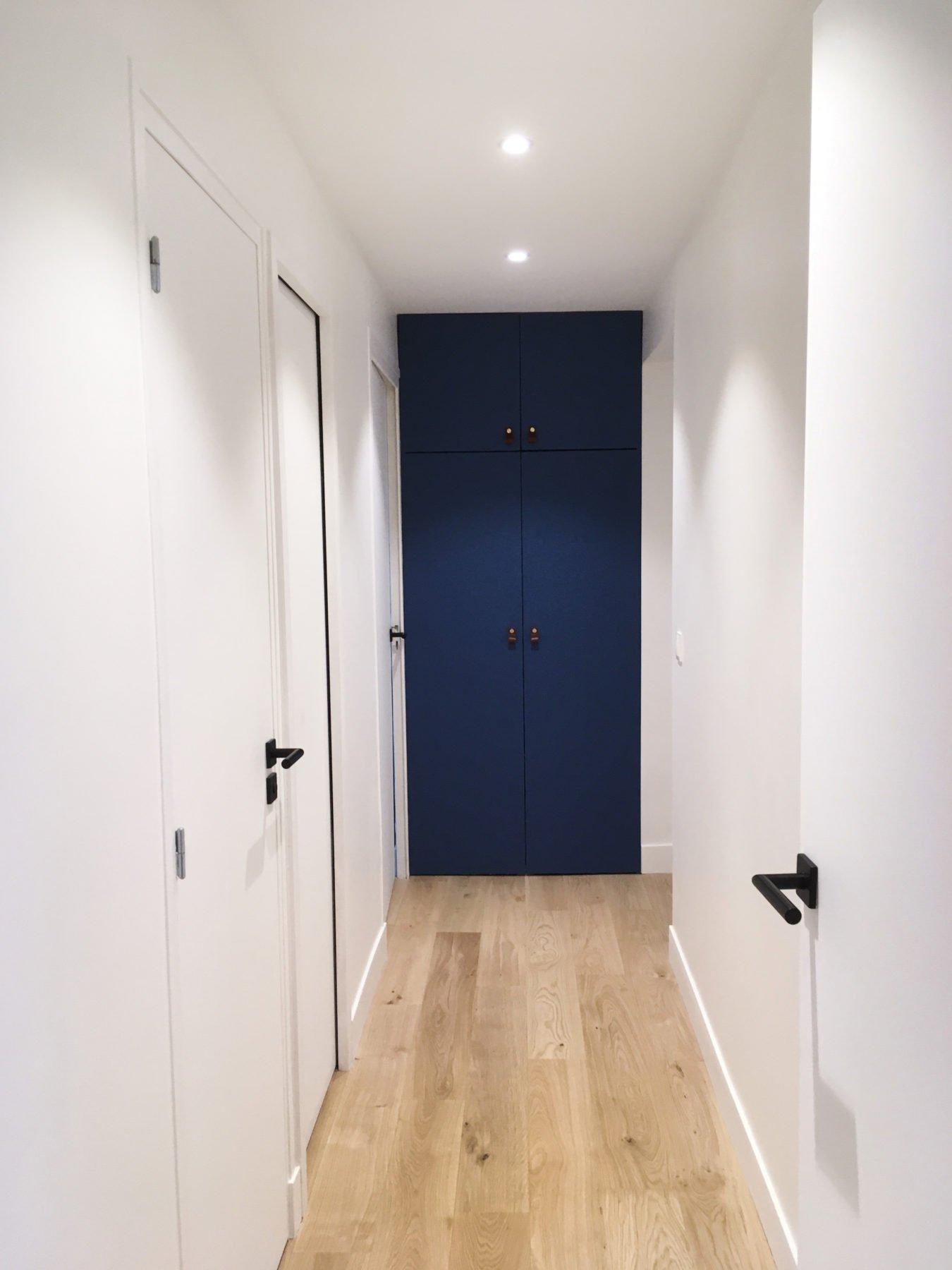 Anouck Charbonnier - Aménagement intérieur de l'entrée pour le projet Henry Bordeaux à Annecy