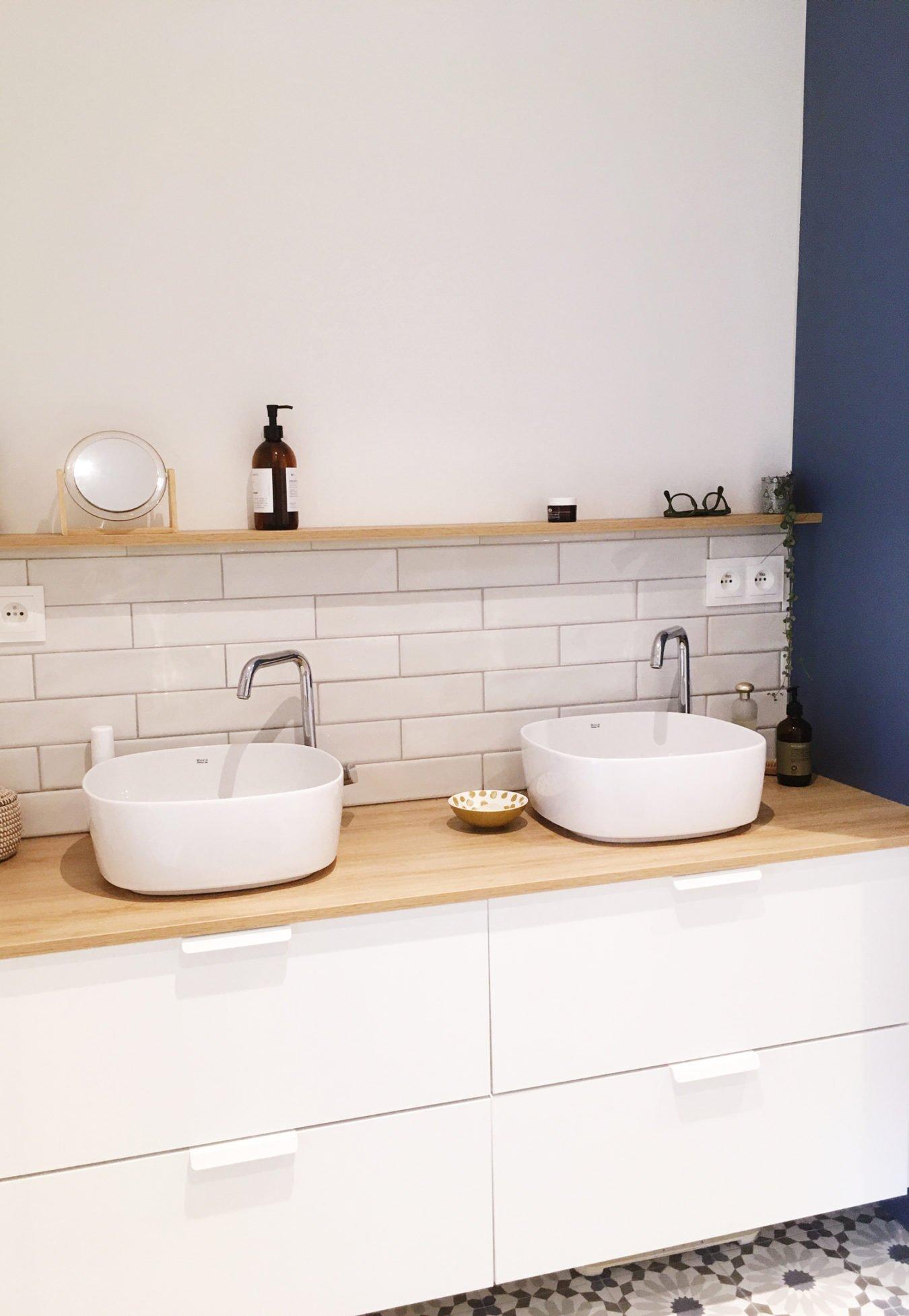 Anouck Charbonnier - Personnalisation et décoration d'une salle de bain pour le projet Henry Bordeaux à Annecy