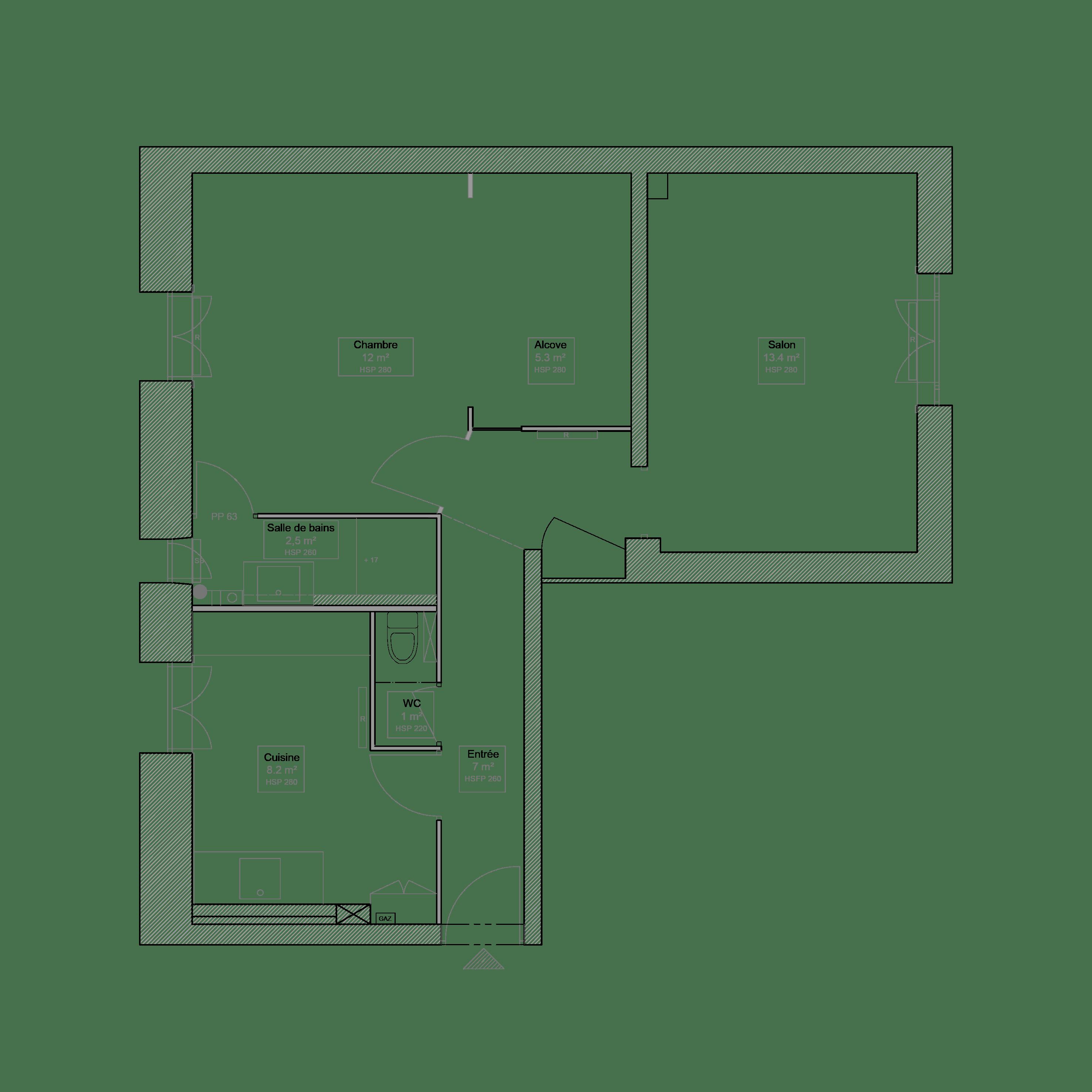 plan 2 St Georges